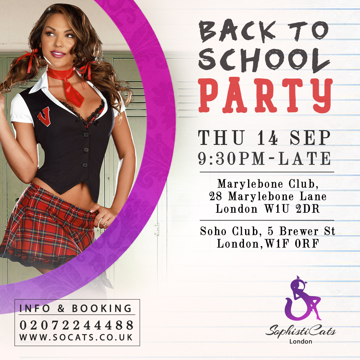 Back to school party_London